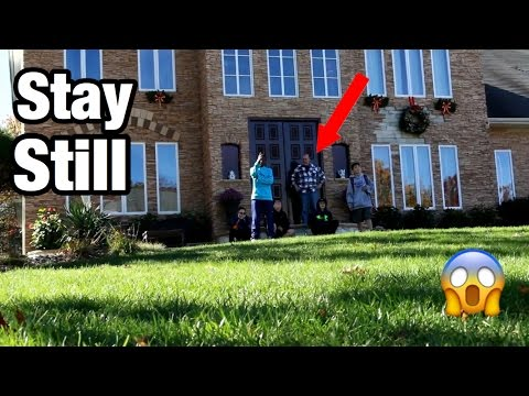 THE MANNEQUIN CHALLENGE ON STRANGERS DOOR STEP! PART 2 *SO FUNNY*