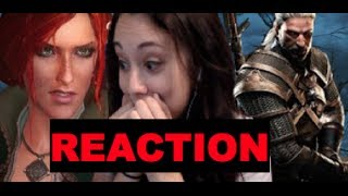 Kathleenmms The Witcher 3 Pre- E3 trailer Fangirling