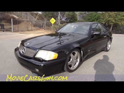 SL600 Movie Car Rental Mercedes Benz V12 TV Show Movies Sell