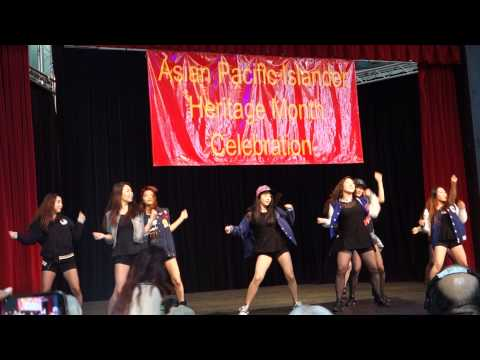 K-Pop Dance Performance 2 at Asian-American Pacific Islander Heritage Month Celebration in Seattle