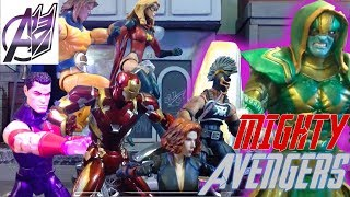 The Avengers [Stop Motion]- Mighty Avengers vs Ronan