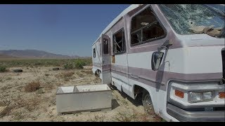 What happened in this abandoned RV lost in Nevada desert?