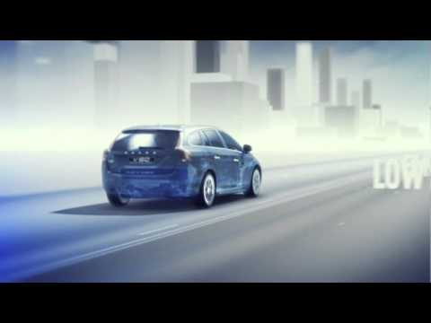 Volvo V60 Plug-In Hybrid - driving mode & charging animation