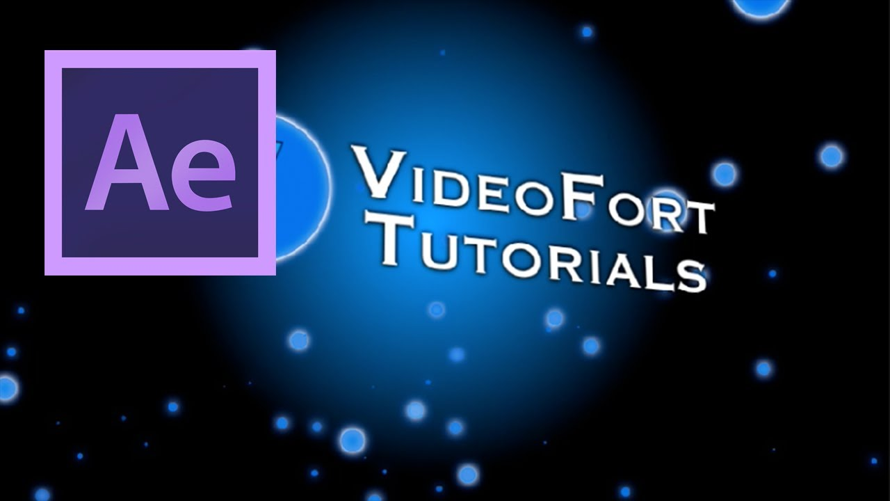 After Effects: Basic Title Creation Part 1 - YouTube