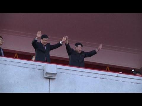 North Korea Orchestrates Huge Military Parade