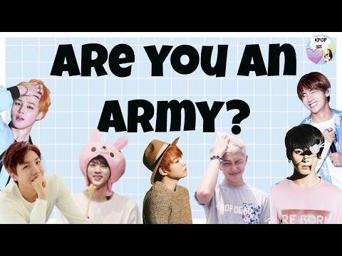 Are You an Army? (BTS Trash) l BTS Quiz