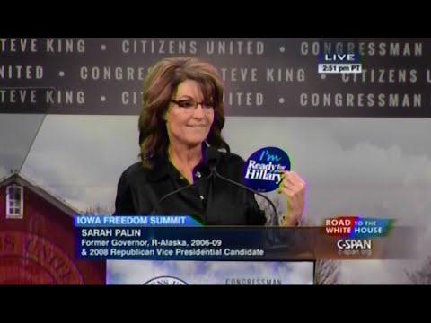 • Gov. Sarah Palin • Iowa Freedom Summit • 1/24/15 •