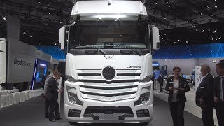 Mercedes-Benz Actros 1863 LS Tractor Truck (2017) Exterior and Interior
