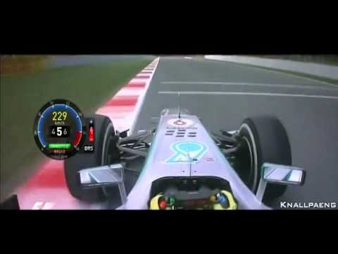 F1 2013 Spain Nico Rosberg Onboard Pole Lap