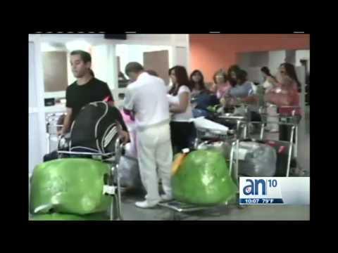 Cuba regulará equipaje sin impuestos  - América TeVé