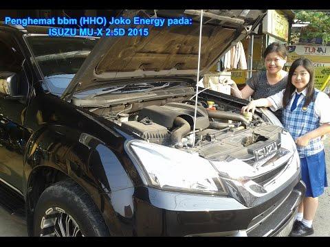 Fuel saver HHO Joko Energy on ISUZU MU-X 2.5D 2015