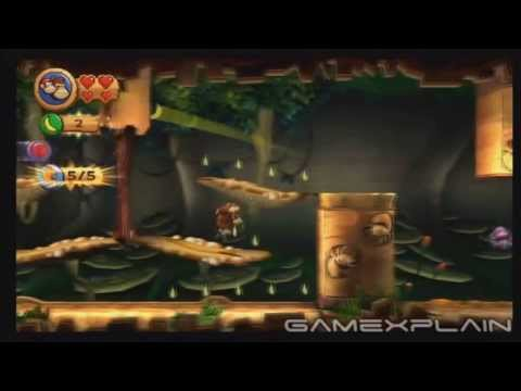 Donkey Kong Country Returns 3D: Muncher Marathon 5-8 (Puzzle Pieces, KONG Letters Guide)