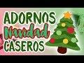 Decorando Mi Arbol de Navidad + Tutorial Adornos FACILES 🎄♥️