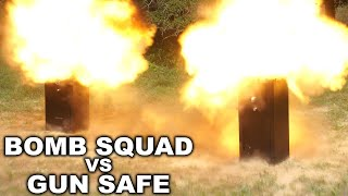 EXPLOSIVE Gun Safe Torture Test!! - Liberty Safe