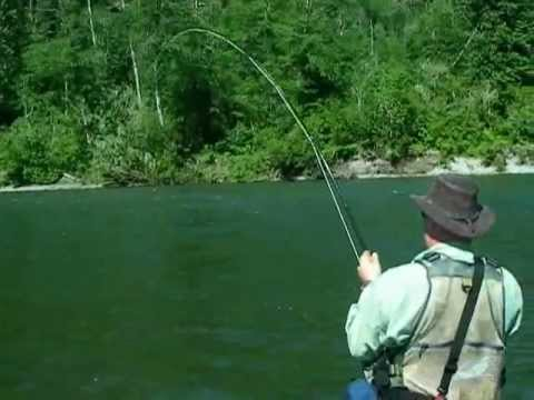 Fly fishing for Bull trout Vancouver BC Canada