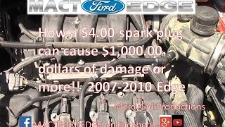 How a 4 dollar spark plug can destroy your Ford Edge PCM