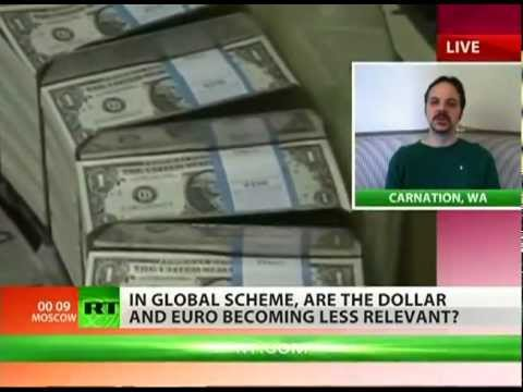 Will the US dollar fall to the Chinese Yuan?