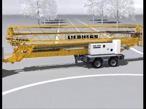 Liebherr 22 HM mobile fast-recting crane