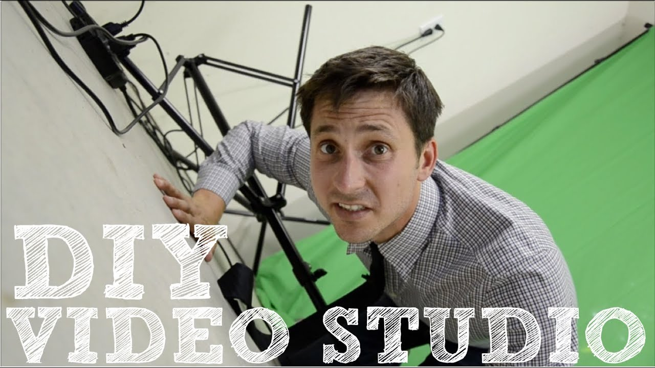 DIY Video Studio How To Set Up Your Home Film Studio YouTube