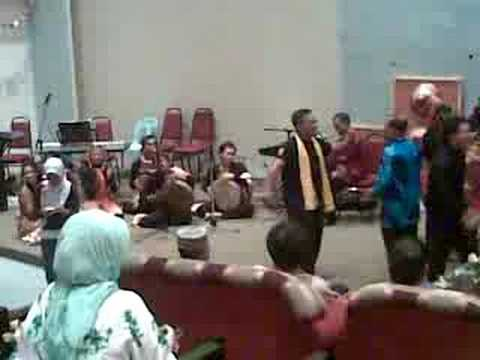 Gendang Melayu Sarawak di Auditorium Polimu by Armizanila