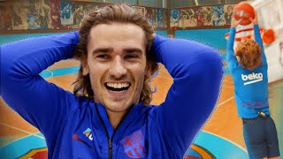 Can Antoine Griezmann beat Steve Nash in a game of HORSE? 🏀