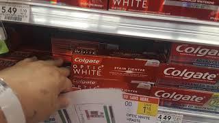 Free Colgate Optic White Toothpaste at Publix