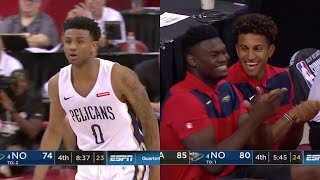 Nickeil Alexander-Walker Puts Up 34 PTS & Zion Gets Hyped Summer League 2019