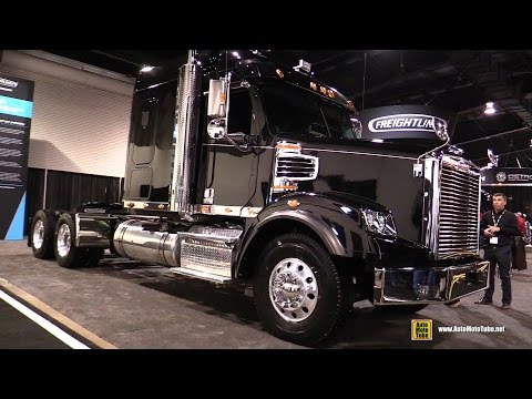 2016 Freightliner 122SD Sleeper Tractor with DD16 530hp Engine - Exterior and Cabin Walkaround
