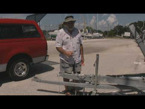 So You Want To Build a Sail Boat Trailer Part I