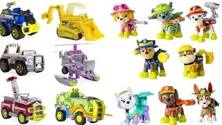 Best Learning Colors Video for Children with Paw Patrol: Help Match Pups to Their Jungle Vehicles