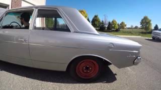 1963 AMC Rambler Classic 660 start-up and cruising