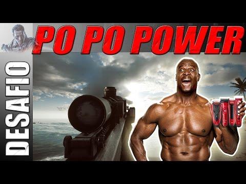 Desafio Po Po Po POWER Gun #2 (BRASSSSSSIIIIIILLLLLLLLLL)