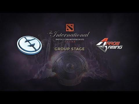 EG -vs- Arrow, The International 4, Group Stage, Day 1