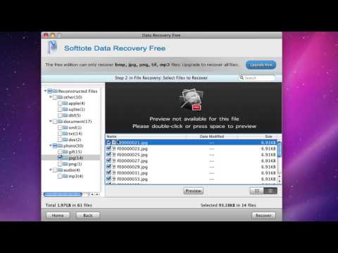 How to Recover Mac Lost Files with Mac Data Recovery Freeware?