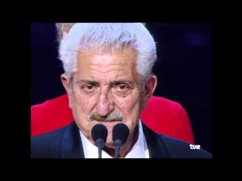 Juan Antonio Bardem recibe el Goya de Honor en 2002