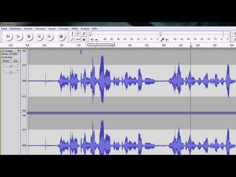 Audacity: Aufnahme und Bearbeitung (Teil 1/2)