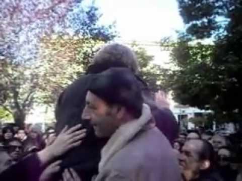 FOGGIA, 23 12 2012   Beppe Grillo M5S arriva in carrozza a P za Umberto Giordano
