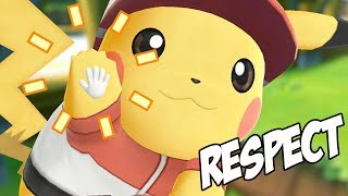 RESPECT PIKACHU - POKEMON LET'S GO #1