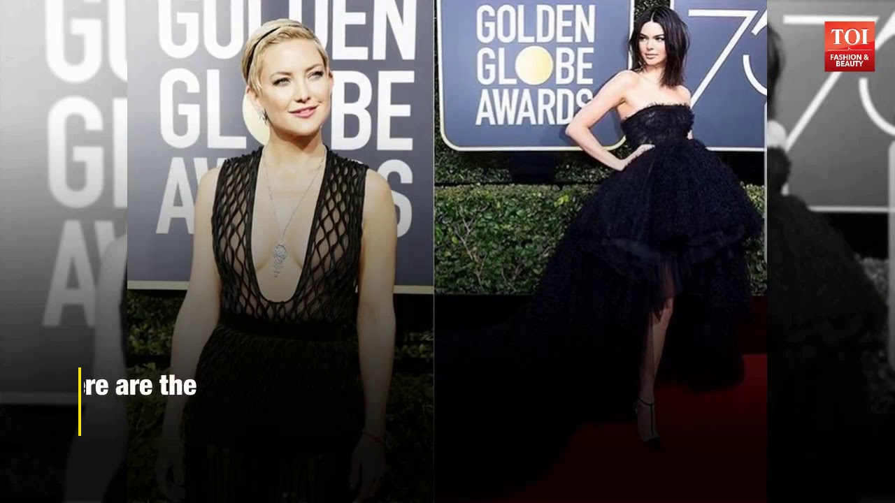 Women in black: Celebs protest sexual harassment at Golden Globes 2018