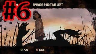 The Walking Dead Game Walkthrough - Episode 5 No Time Left Part 6 - The End Ending