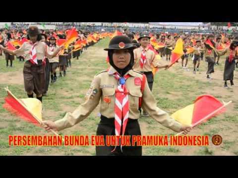 Persembahan Bunda Eva Untuk Pramuka Indonesia
