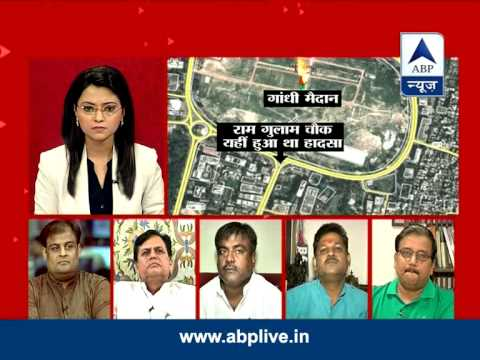 ABP News Debate: Who is responsible for the Patna stampede?