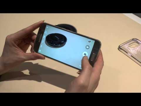 Samsung Galaxy S6 : prise en main pendant le Mobile World Congress 2015
