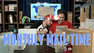 Monthly Mail Time - JulAugust 2018