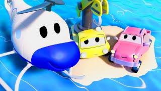 đội xe tuần tra - Thủy triều dâng - Thành phố xe 🚗 những bộ phim hoạt hình về xe tải