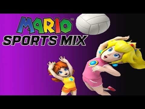 Gaming with the Kwings - Mario Sports Mix: Volleyball Gameplay Co Op (HD)