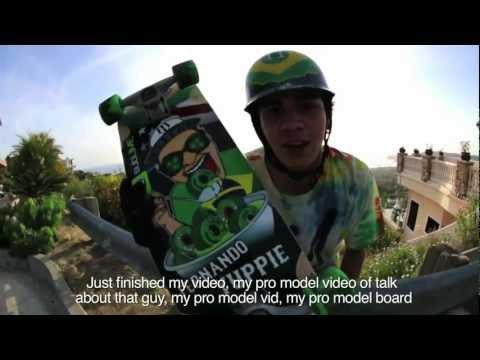 Fernando Yuppie Eats Wheels - ABEC 11 Longboarding