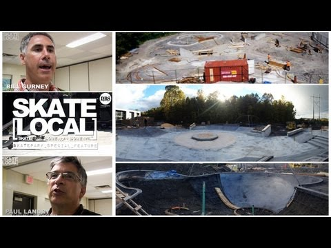 SKATEPARK SPECIAL FEATURE : KANATA, ON, CANADA - SKATE LOCAL