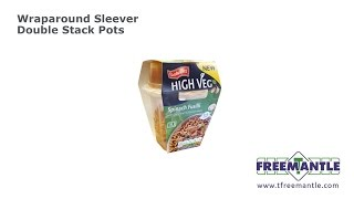T Freemantle Ltd - Wraparound Sleever for Double Stacked Pots
