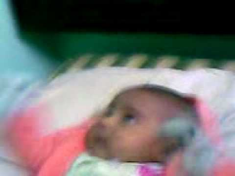 Miracle Baby Talking Staring And Crying At Kabatullah Screen On Wall video